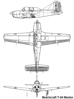 t34 3v model airplane plan