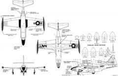 t 2c model airplane plan