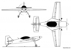 terzi t 30 katana model airplane plan