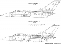tornado adv 2 model airplane plan