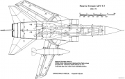tornado adv 3 model airplane plan