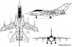 tornado gr1 model airplane plan