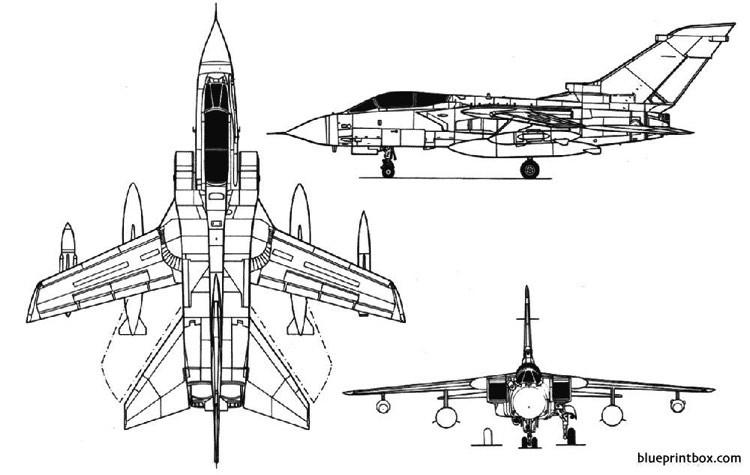 tornado mk1 model airplane plan