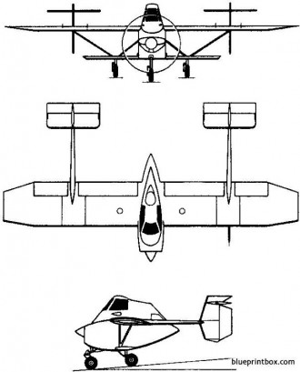 transavia pl 12 airtruk 1965 australia model airplane plan