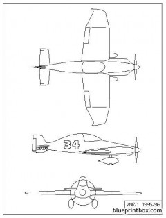 trc 1 model airplane plan
