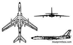 tu 16 badger model airplane plan