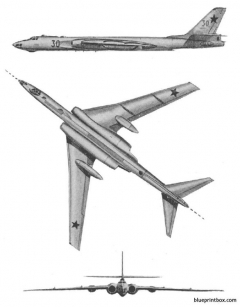 tu 16 badger 2 model airplane plan