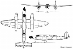 tupolev 77  tu 12 1947 russia model airplane plan