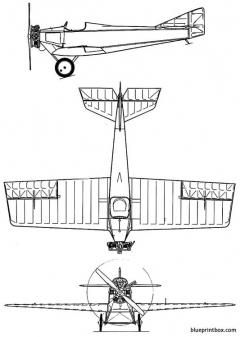 tupolev ant 1 model airplane plan