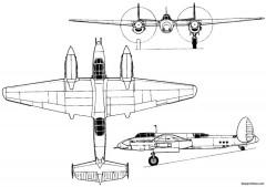 tupolev ant 63p tu 1 1946 russia model airplane plan