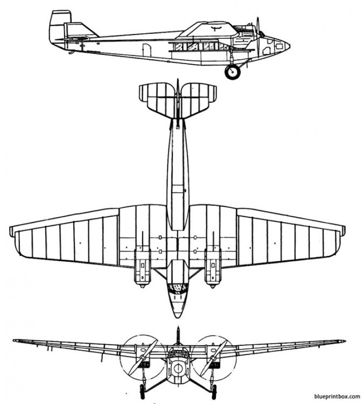 tupolev ant 9 model airplane plan