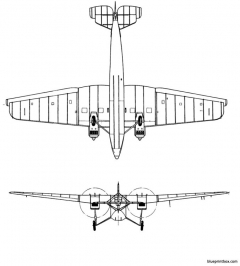 tupolev ant 9 2 model airplane plan