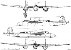 tupolev tu 1 model airplane plan