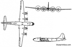 tupolev tu 4 model airplane plan