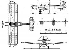 turbi 3v model airplane plan