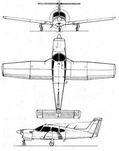 turboarrow4 3v model airplane plan