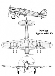 typhoon1b 1 3v model airplane plan