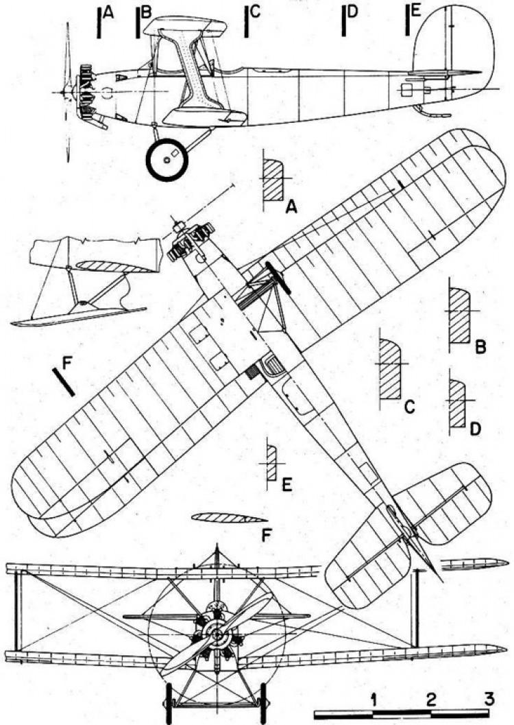 udetu12a flamingo 3v model airplane plan