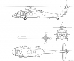 uh 60 blackhawk model airplane plan