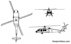 uh 60a blackhawk model airplane plan