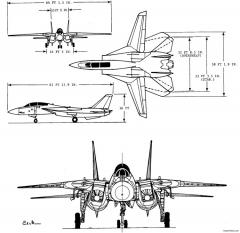 unknown fighter 2 model airplane plan