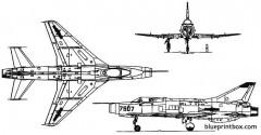unknown fighter plane model airplane plan