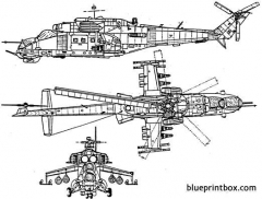 unknown helicopter 04 model airplane plan