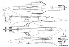 unknown jet plane 06 model airplane plan