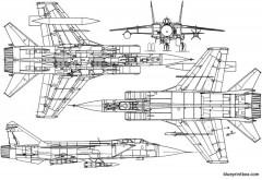 unknown jet plane 08 model airplane plan
