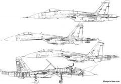 unknown jet plane 14 model airplane plan