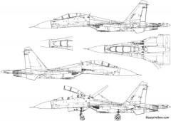 unknown jet plane 17 model airplane plan
