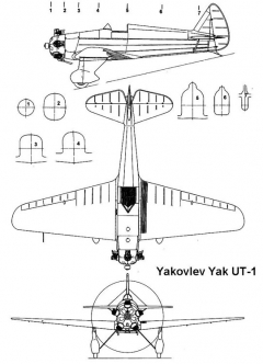 ut1 1 3v model airplane plan