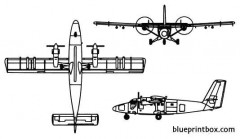 uv 18a twin otter model airplane plan