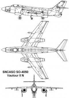 vautour2n 3v model airplane plan