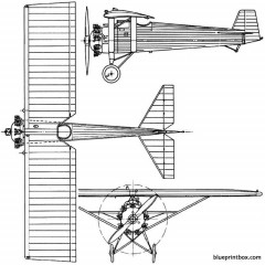 vickers 121 wibault scout 1926 england model airplane plan