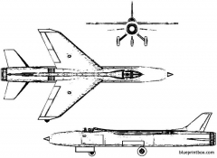 vickers 553 model airplane plan