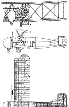 vickers 66 vimy commercial 1929 model airplane plan