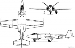 vickers supermarine 508 model airplane plan