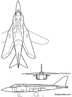 vickers supermarine 583v model airplane plan