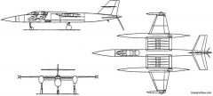 vickers supermarine type 582 single model airplane plan