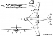 vickers valiant 1951 england model airplane plan