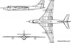 vickers valiant 3 model airplane plan