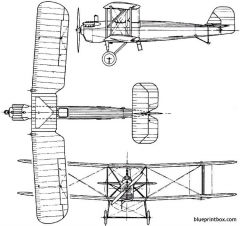 vickers vendace 1926 england model airplane plan