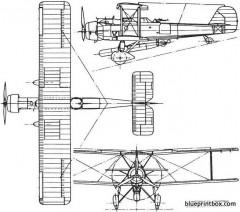 vickers vildebeest 1928 england model airplane plan