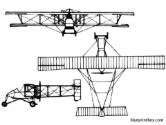 voisin 3 model airplane plan