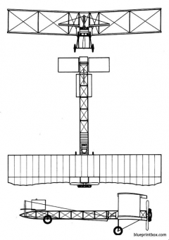 voisin canard model airplane plan