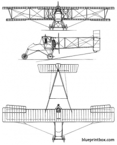 voisin type 5 model airplane plan