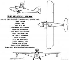volmer vj 22 sportsman model airplane plan