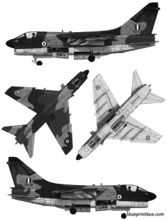 vought a 7h corsair ii model airplane plan