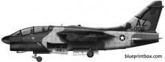 vought a 7k corsair ii model airplane plan